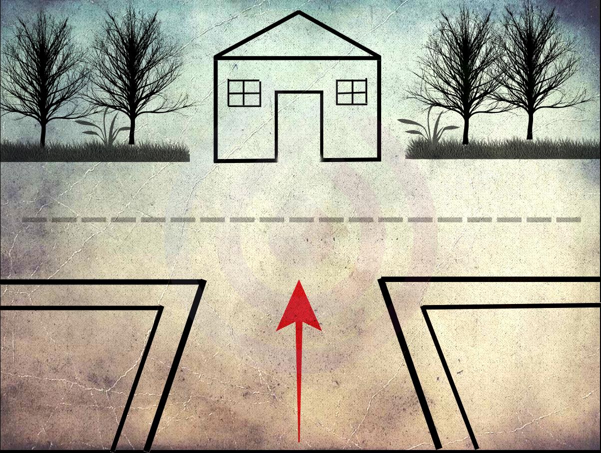 hoá giải sát khí cho căn nhà