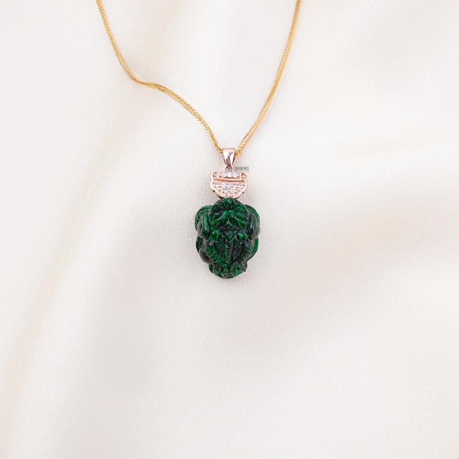 Toad Green Classic Pendant