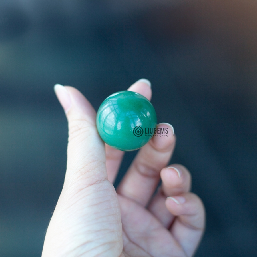 Jade Marbles Rolling Hand